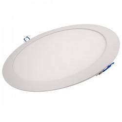 Ovia Alupanel 24W 4000K White Fixed LED Downlight