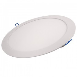 Ovia Alupanel 24W 3000K White Fixed LED Downlight