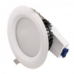 Ovia Inceptor Iona 190mm 20W Colour Temp Adjustable White Fixed LED Downlight
