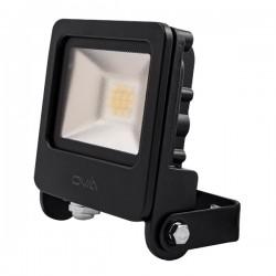 Ovia Pathfinder 10W 4000K Black LED Floodlight