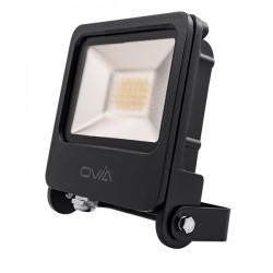 Ovia Pathfinder 20W 3000K Black LED Floodlight
