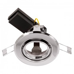 Ovia Baylis 92mm 50W Chrome Adjustable GZ/GU10 Downlight
