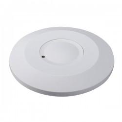 Ovia 360° Low Profile Surface Mounted IP20 White Microwave Sensor