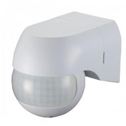 Ovia 180° Rotatable Wall Mounted IP44 White PIR Sensor