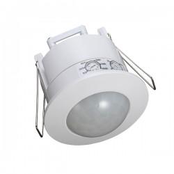 Ovia 360° Recessed Flush IP20 White PIR Sensor