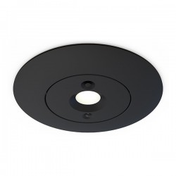 Ansell Merlin Black 5W Non-Maintained LED Emergency Downlight - Open Area