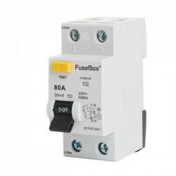 FuseBox 80A 30mA Type AC 2-Pole RCD