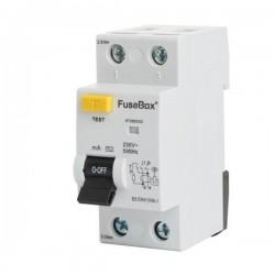 FuseBox 80A 100mA Type AC 2-Pole RCD