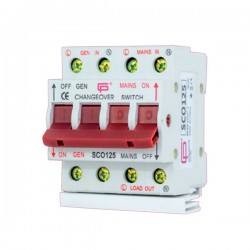FuseBox 125A Changeover Switch and Busbar