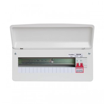 FuseBox F2 15 Way Consumer Unit - 100A Main Switch