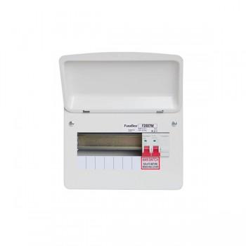 FuseBox F2 7 Way Consumer Unit - 100A Main Switch
