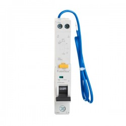 FuseBox 50A 30mA B Curve Type A  6KA Single Pole RCBO