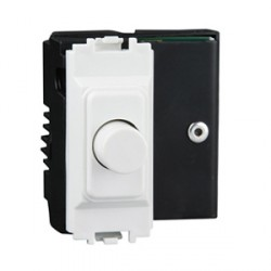 Zano Controls White 700W Push Dimmer Module