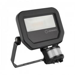 LEDVANCE GEN 3 10W 3000K Black LED Floodlight with Sensor