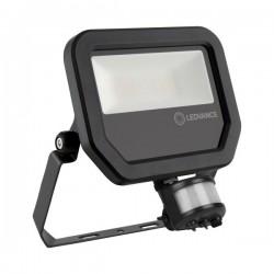 LEDVANCE GEN 3 20W 4000K Black LED Floodlight with Sensor