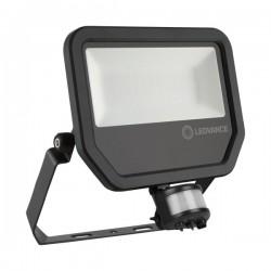 LEDVANCE GEN 3 50W 3000K Black LED Floodlight with Sensor