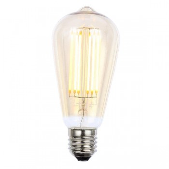 Forum Lighting Solutions INLIGHT Vintage 6W Warm White Dimmable E27 Tinted LED Squirrel Cage Bulb