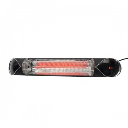 Forum Lighting Solutions Zinc Outdoor Flare 2000W Wall-Mounted Patio Heater with Remote Control