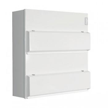 Hager Design 10 Metal 20+20 Way Consumer unit - 100A Main Switch (Amendment 3)