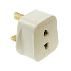 CED White 13amp Shaver Adapter