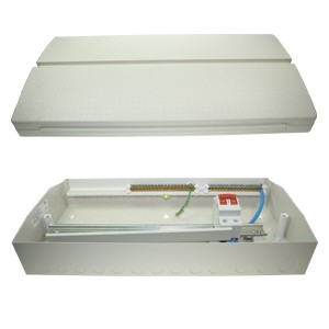 BG CUSW14M Metal Consumer Unit 14 Way/16 Modules with 100A ...