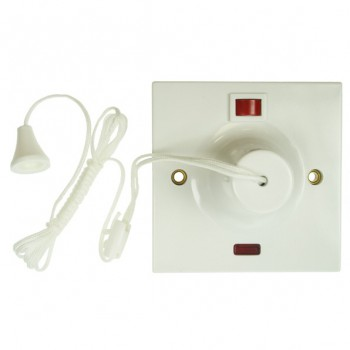 BG Plastic Ceiling Mounted Pull Cord