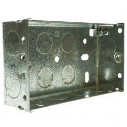 Appleby 35mm Double Flushed Metal Installation Box