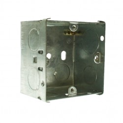 Appleby 47mm Single Flushed Metal Installation Box