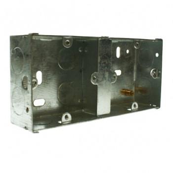 Appleby 35mm Dual Flushed Metal Installation Box