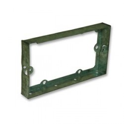 Appleby 16mm Double Flushed Metal Extension Box