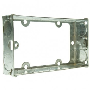Appleby 25mm Double Flushed Metal Extension Box