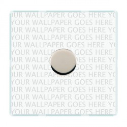 Hamilton Perception Clear Push On/Off Dimmer 1 Gang 2 way Inductive 300VA with Bright Chrome Insert