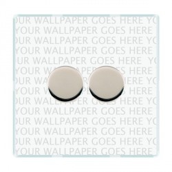 Hamilton Perception Clear Push On/Off Dimmer 2 Gang 2 way 400W with Bright Chrome Insert