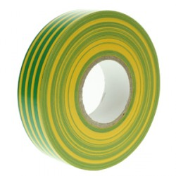 PVC Green and Yellow Insulation Tape