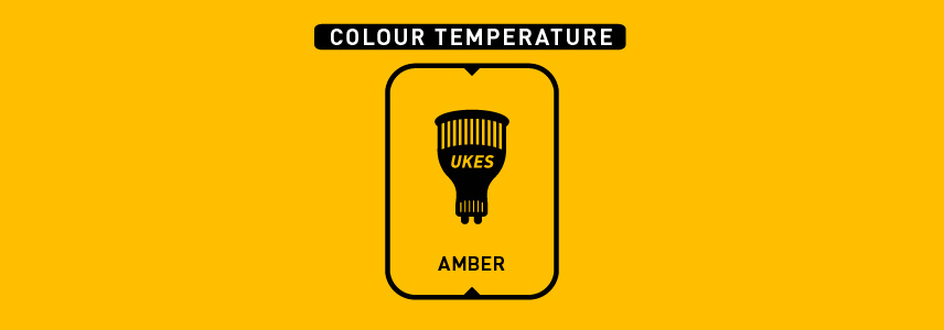Colour temperature: amber