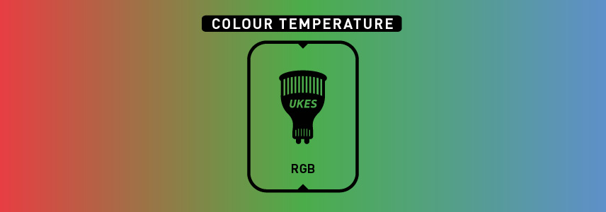 Colour temperature: rgb